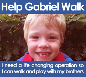 Help Gabriel Walk