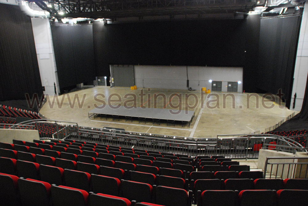 View from Seat Block 216 at First Direct Arena