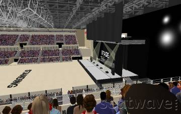 View from Seat Block 18 at Liverpool Echo Arena
