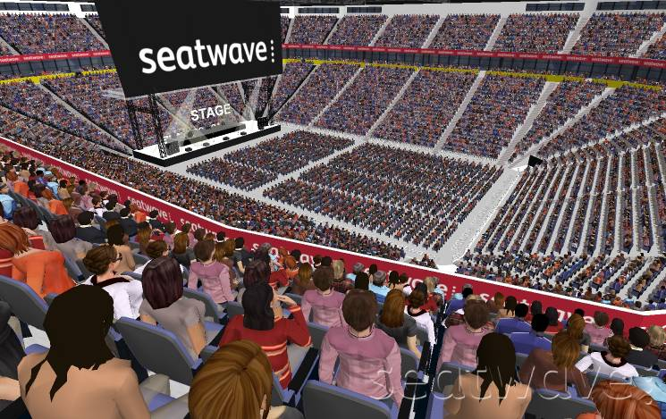 View from Seat Block 205 at Manchester Arena