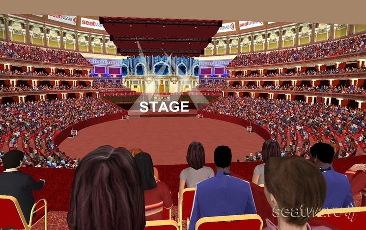 View from Seat Block Grand Tier at Royal Albert Hall