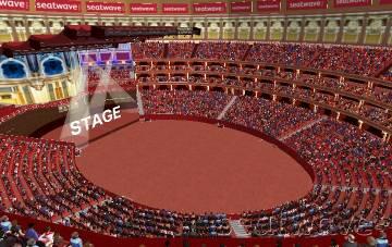 View from Seat Block S at Royal Albert Hall
