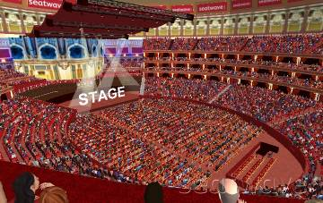 View from Seat Block S at Royal Albert Hall