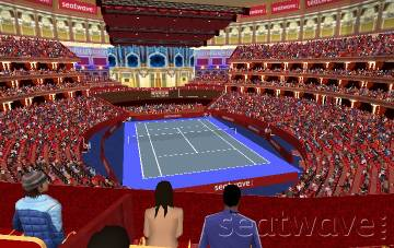 View from Seat Block Second Tier at Royal Albert Hall