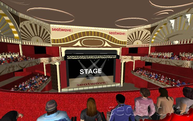 View from Seat Block LEVEL 2 at Shepherds Bush Empire