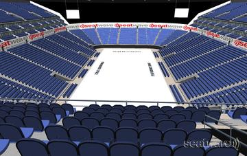 View from Seat Block 412 at The O2 Arena