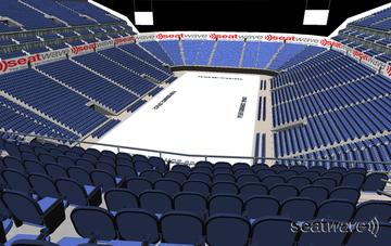 View from Seat Block 413 at The O2 Arena