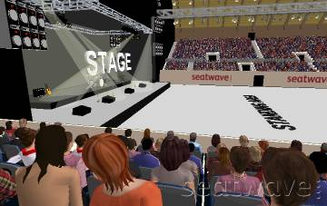 View from Seat Block S4 at SSE Arena Wembley