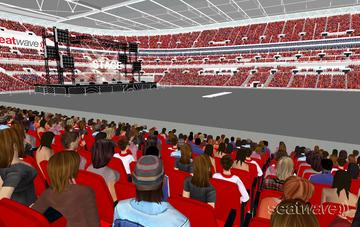 View from Seat Block 121 at Wembley Stadium
