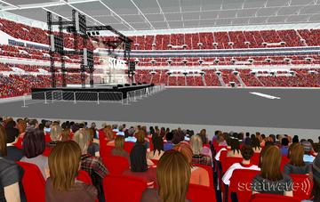 View from Seat Block 125 at Wembley Stadium