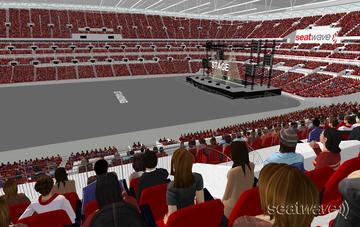 View from Seat Block 201 at Wembley Stadium
