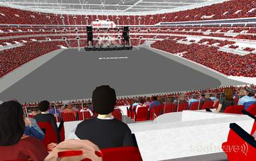 View from Seat Block 214 at Wembley Stadium