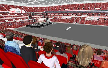 View from Seat Block 225 at Wembley Stadium