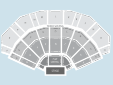 Seated Seating Plan at 3Arena