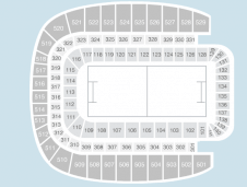 Rugby Seating Plan at Aviva Stadium