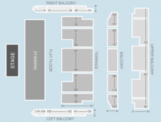 Standing Seating Plan at Bournemouth International Centre
