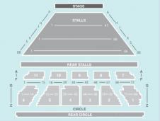 Seated Seating Plan at Eventim Apollo