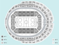 Hockey Seating Plan at Lanxess Arena