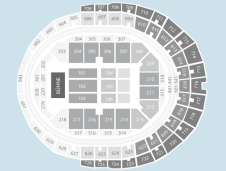 Seated Seating Plan at Lanxess Arena