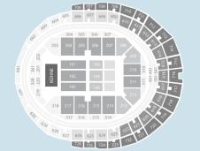 Seated Seating Plan at Lanxess Arena