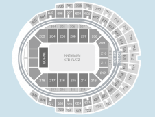 Standing Seating Plan at Lanxess Arena
