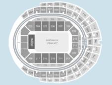 Standing Seating Plan at Lanxess Arena