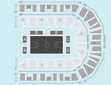 Basketball Seating Plan at Liverpool Echo Arena