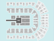 Wrestling Seating Plan at Liverpool Echo Arena