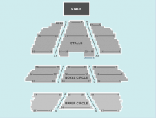 Seated Seating Plan at London Palladium