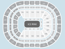 Ice Seating Plan at Manchester Arena