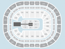Wrestling Seating Plan at Manchester Arena