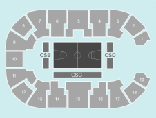 Basketball Seating Plan at Motorpoint Arena Nottingham
