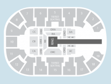 Wrestling Seating Plan at Motorpoint Arena Nottingham