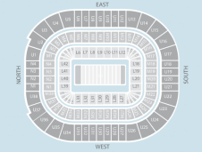 Rugby Seating Plan at Principality Stadium