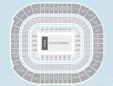 Standing Seating Plan at Principality Stadium