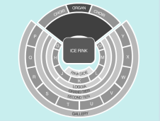 Ice Seating Plan at Royal Albert Hall
