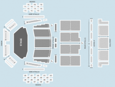 Seated Seating Plan at Royal Festival Hall