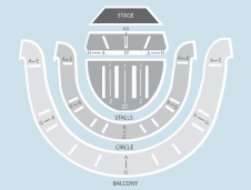 Seated Seating Plan at Sheffield City Hall and Memorial Hall