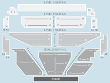 Seated Seating Plan at Shepherds Bush Empire