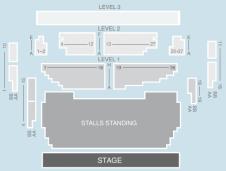 Standing Seating Plan at Shepherds Bush Empire