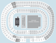 Gold circle Seating Plan at Stade de France