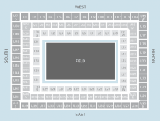 Rugby Seating Plan at Twickenham Stadium