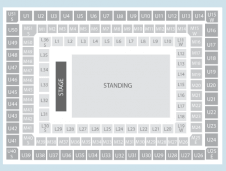 Standing Seating Plan at Twickenham Stadium