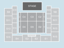 Half hall Seating Plan at SSE Arena Wembley