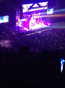 View of little mix from Seat Block at First Direct Arena