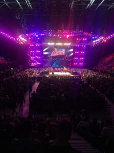 View of  from Seat Block 108 at Manchester Arena