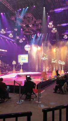 View of Strictly Live Tour  from Seat Block 111 at Manchester Arena