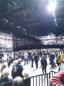 View of U2 from Seat Block 111 at Manchester Arena