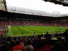 View of  from Seat Block 121 at Old Trafford