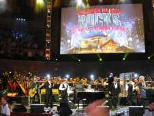 View of Children in Need Rocks from Seat Block at Royal Albert Hall